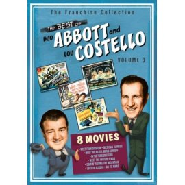The Best of Abbott & Costello - Volume 3 (8 Film Collection)
