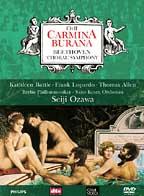 Orff - Carmina Burana: Battle, Allen, Lopardo, Ozawa, Berlin / Beethoven - Symphony No. 9: Schwanewilms, Groves, Dever, Hawlata, Ozawa, Saito Kinen Orchestra