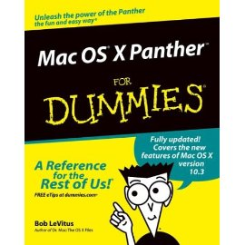 Mac OS X Panther for Dummies