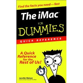 The iMac for Dummies Quick Reference