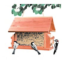 Outdoor Seasons Bird Feeder Lodge