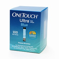 OneTouch Ultra Blue Test Strips (Box of 100)