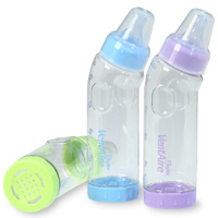 Playtex Reusables VentAire Bubble Free Bottle System 3-Pack, 9 oz