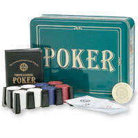 Poker Learn to Play Texas Hold 'Em, in a Tin Container