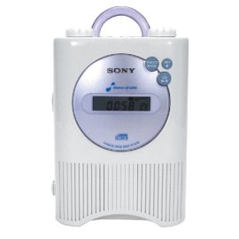 Sony Icf Cd73v Liv Shower Cd Player Clock Radio Gosale