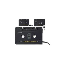 COBY CA-747 Dual Position CD/MP3/MD to Cassette Adapter