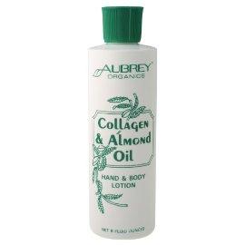Aubrey Organics - Collagen&Almond Oil Hand&Body Lotion, 8 fl oz lotion