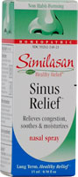 Similasan Sinus Relief Nasal Spray - .50 fl oz
