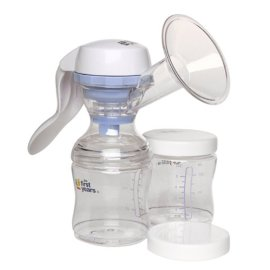 First Years Easy Comfort Manual Breast Pump