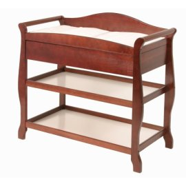 Storkcraft Aspen Changing Table - Cherry
