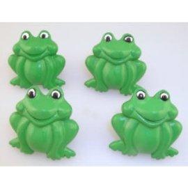 Frog Drawer Knobs - Set of 4