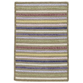 Seascape Beach Front Rectangle Braided Rug - 7x9'