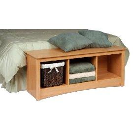 Sonoma Maple Cubby Bench
