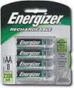 ACCU Rechargeable NiMH Round Cell AA Batteries (8-Pack) - NH15BP-8