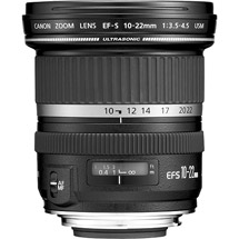 Canon EF-S 10-22mm f/3.5-4.5 USM Lens (9518A002)