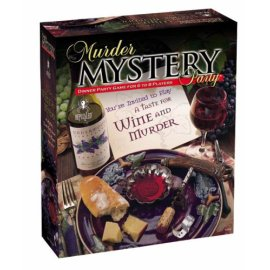 A Taste for Wine and Murder Mystery Game