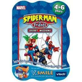 V Smile Smartridge: Spider-Man and Friends- Secret Missions