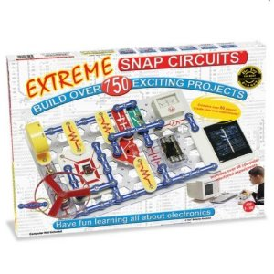 Snap Circuits Extreme Electronics Kit