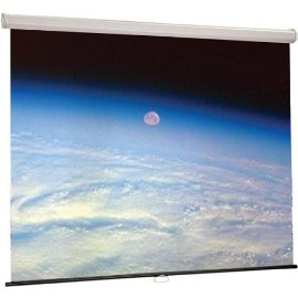 Draper Luma 4:3 Manual Wall 10 Foot Projection Screen -- 207009