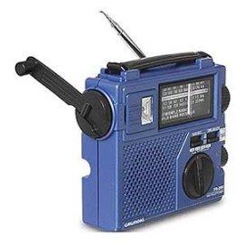 Grundig FR200 AM/FM Shortwave World Band Crank Radio and Light