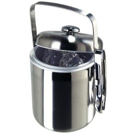 Galaxy Satin Finish Ice Bucket with Tongs