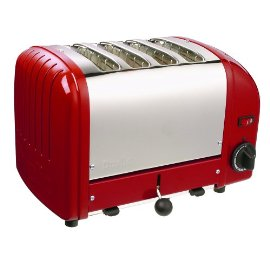 Dualit Classic 4-Slice Toaster - Red