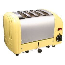 Dualit Classic 4-Slice Toaster - Canary