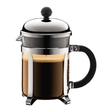 Bodum Chambord 4-Cup Coffee Press - Chrome