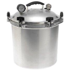 All American 25.5-qt. Cast Aluminum Pressure Cooker (# 925)