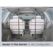Pet Tubular Vehicle Barrier