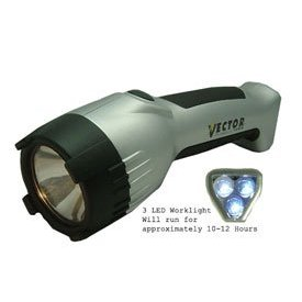 Flashlight 2-Way - Silver