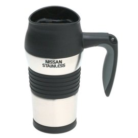 Nissan 14-Ounce Leak-Proof Insulated Travel Mug