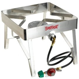 Stainless Steel Single-Burner Stove