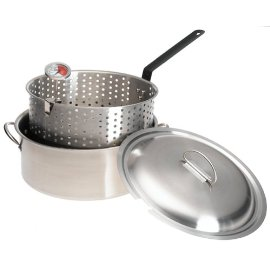 Bayou Classic 10-qt. Stainless Steel Fry Pot