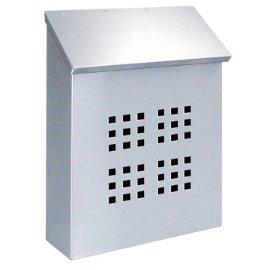 Decorative Standard Vertical Mailbox -- Stainless Steel