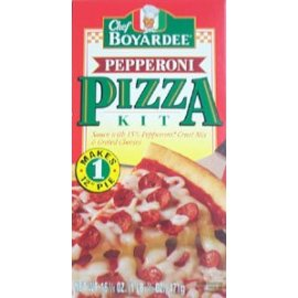 Chef Boyardee Pepperoni Pizza Kit