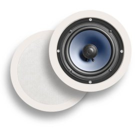 Polk Audio RC60i In-Wall Speakers (Pair, White)
