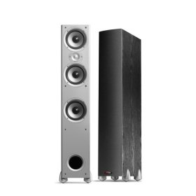 Polk Audio Monitor 60 Floorstanding Tower Speaker System (Black) (Single Speaker)