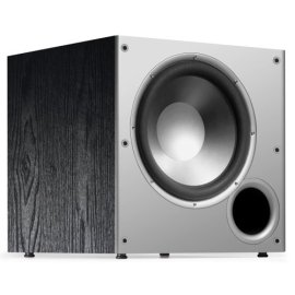 Polk Audio PSW10 Monitor Series Powered Subwoofer - Black Oak