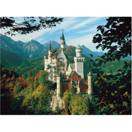 Neuschwanstein Castle 1500 Piece Puzzle