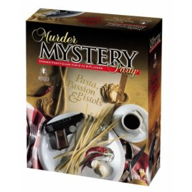 Pasta Passion & Pistols Mystery Dinner Party Game