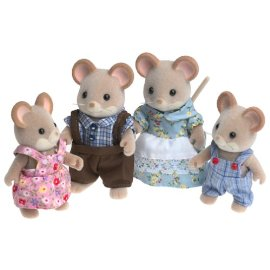 Calico Critters Norwood Mouse Family Set