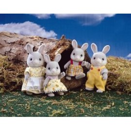 Calico Critters Cottontail Rabbit Family Set