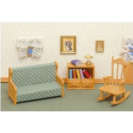 Calico Critters Furniture Accessories: Living Room Set