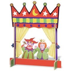 Crown Table Top Puppet Theatre
