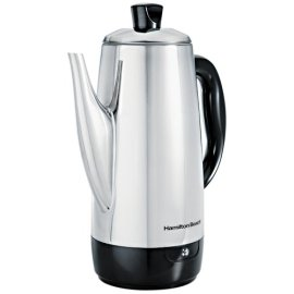Hamilton Beach 40616 Stainless Steel 12-Cup Percolator