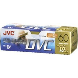 JVC MDV60DU10 Mini-DV Camcorder Tape