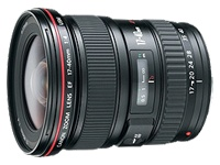Canon EF 17-40mm f/4L USM Ultra Wide Angle Zoom Lens for Canon SLR Cameras (8806A002)