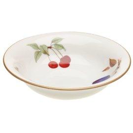 Royal Worcester Evesham Gold Porcelain 6-1/2-Inch Cereal Bowl