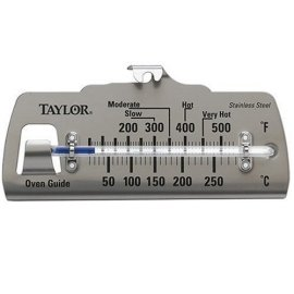 Taylor Oven Guide Thermometer - STAINLESS STEEL